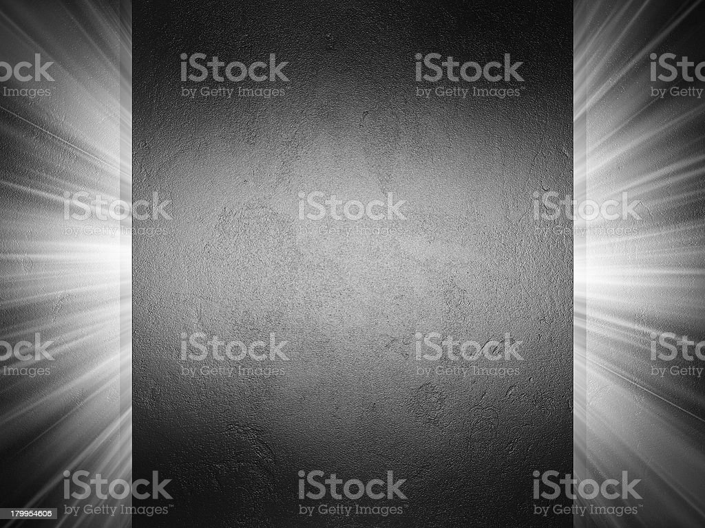 Clean metal texture 3d presentation royalty-free stock photo