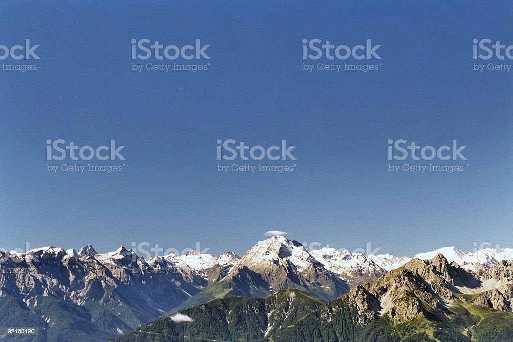 Clean Mountain Air royalty-free stock photo