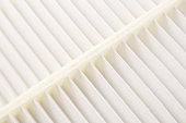 clean new car automobile air condition filter