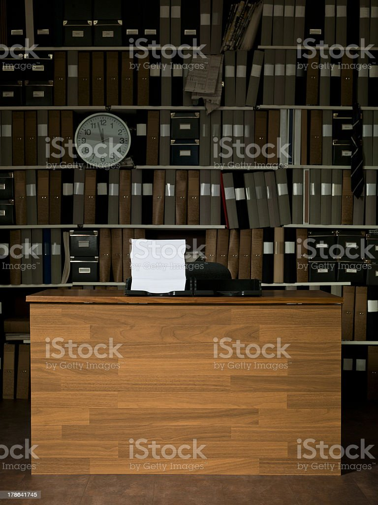 Clean Office royalty-free stock photo