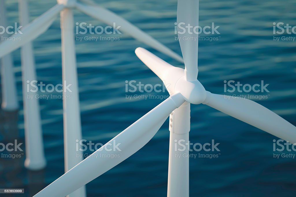 clean power stock photo