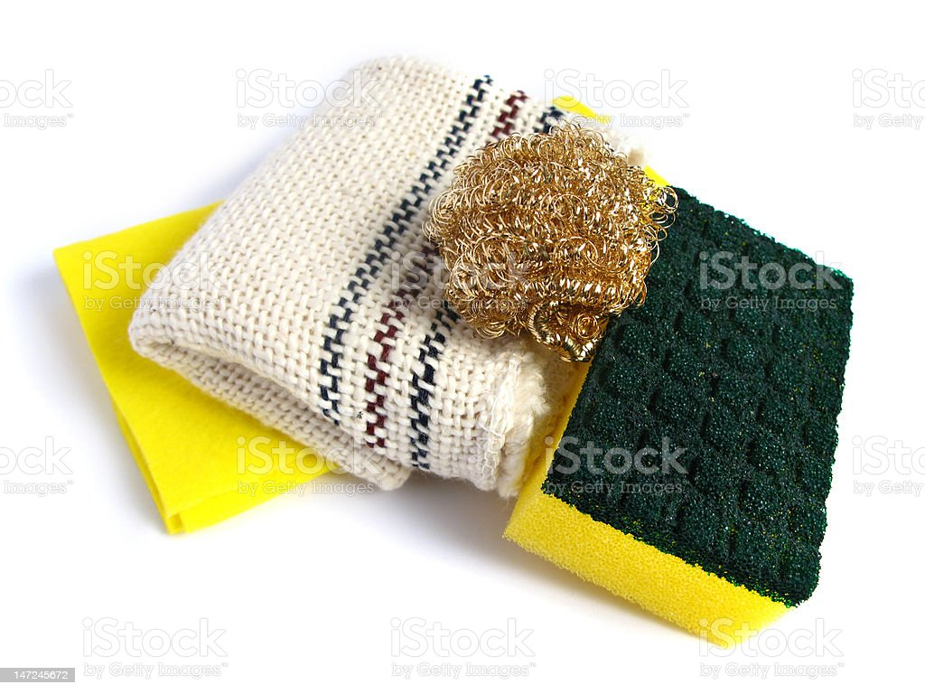 Clean products stock photo