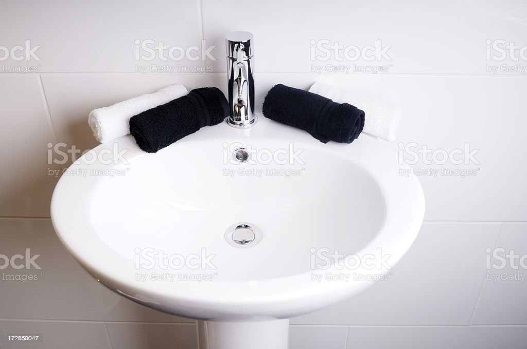 clean sink stock photo