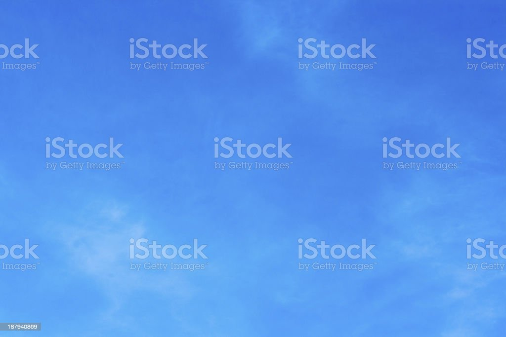 Clean Sky Background royalty-free stock photo