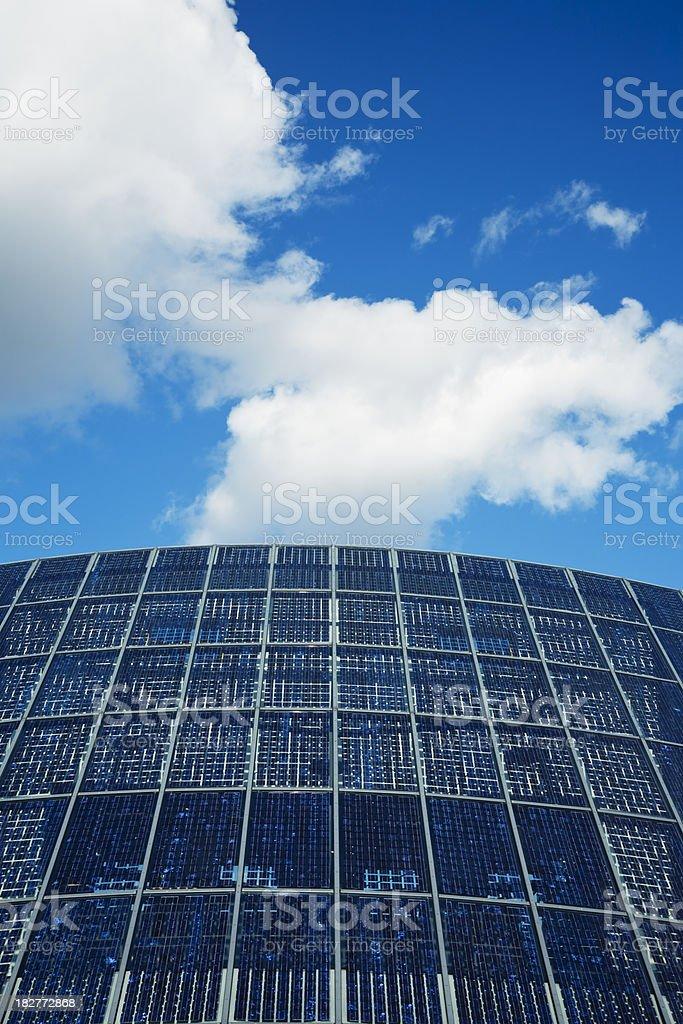 Clean Solar Energy royalty-free stock photo