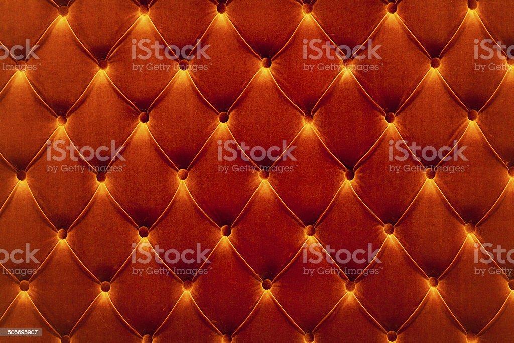 Clean Velvet Sofa Background stock photo