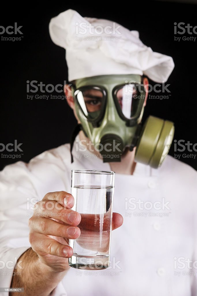 Clean water concept royalty-free stock photo