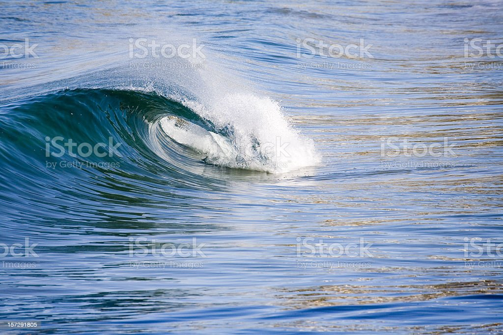 Clean wave close up royalty-free stock photo