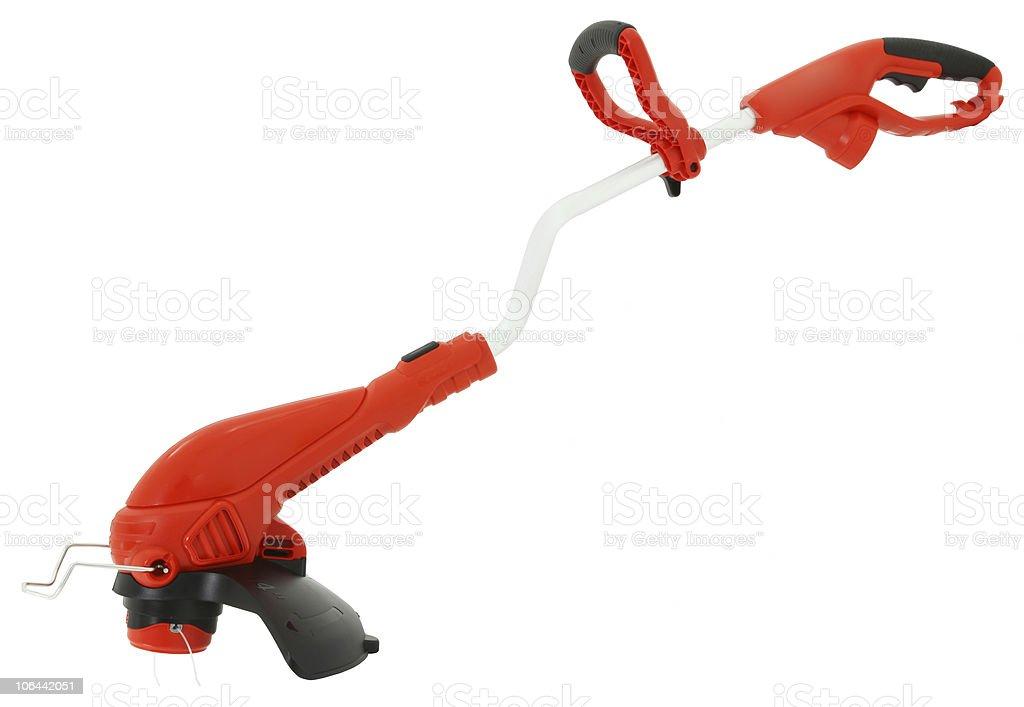Clean Weed Eater stock photo