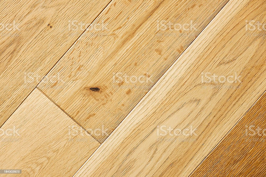 Clean Wood Floor Close-up stock photo