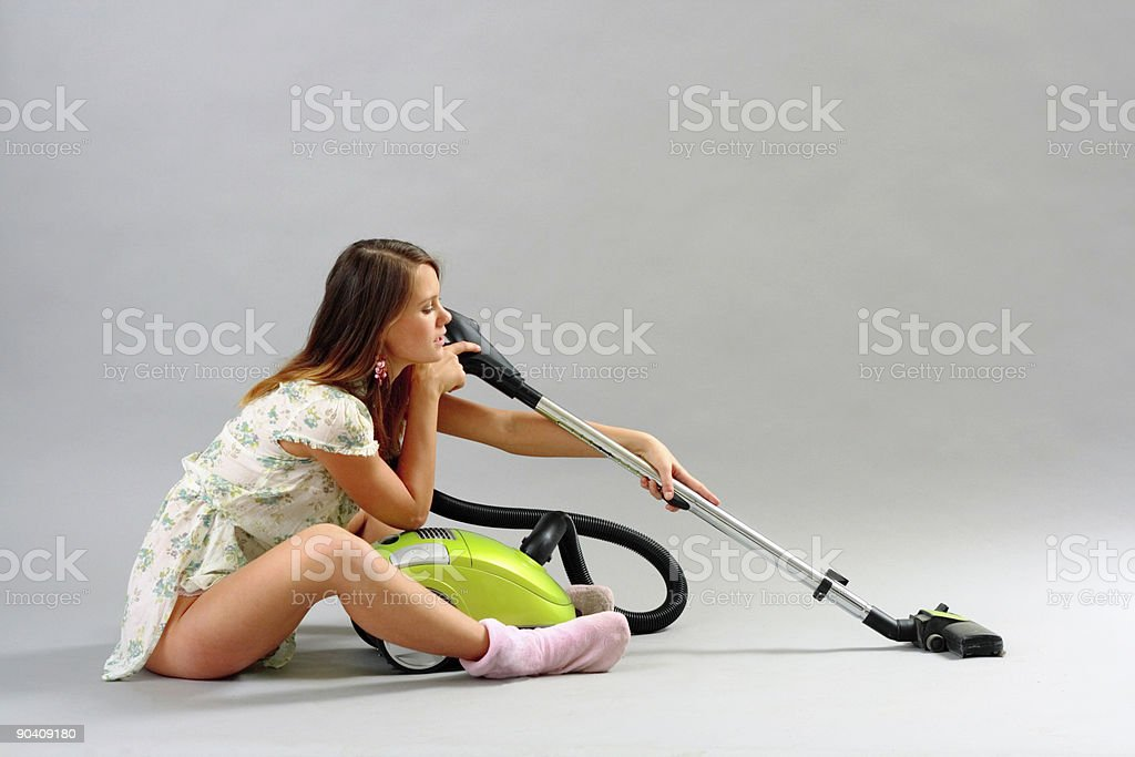 cleaner royalty-free stock photo