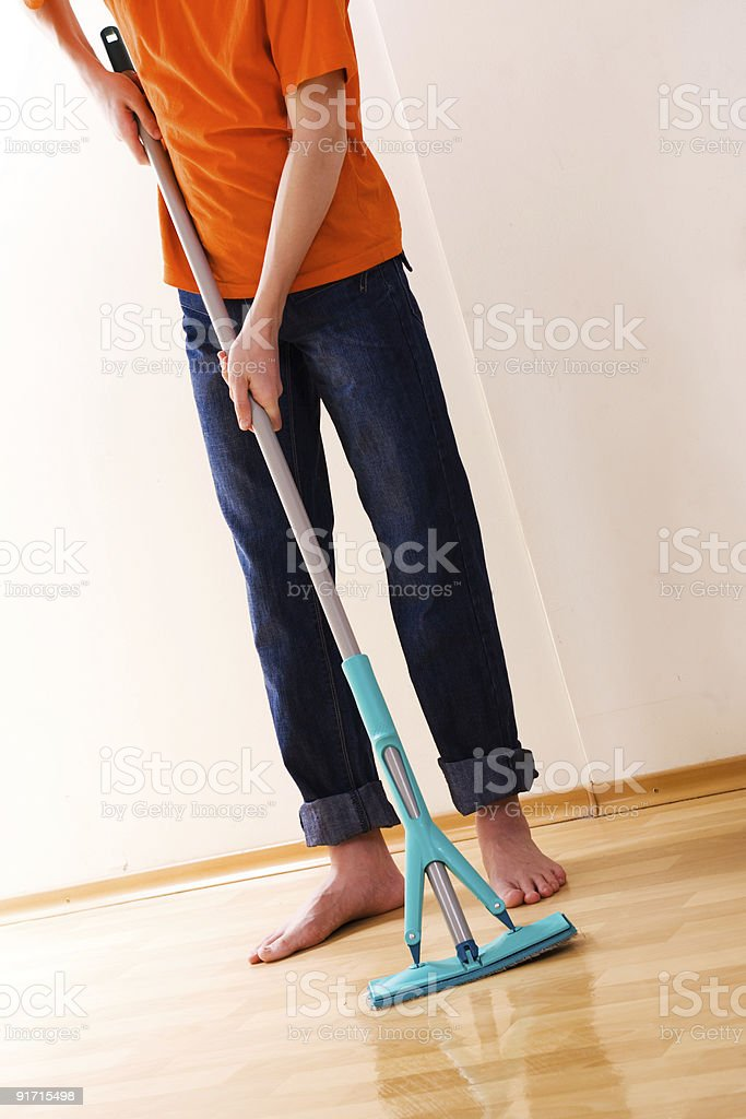 cleaner stock photo