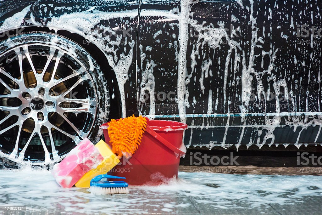 Cleaners and cleansers stock photo