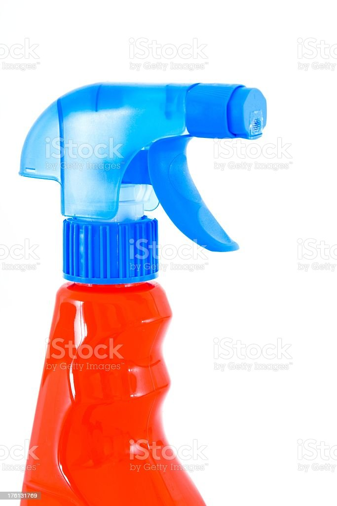 Cleaning accessories stock photo