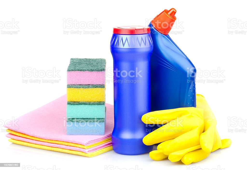 cleaning articles royalty-free stock photo