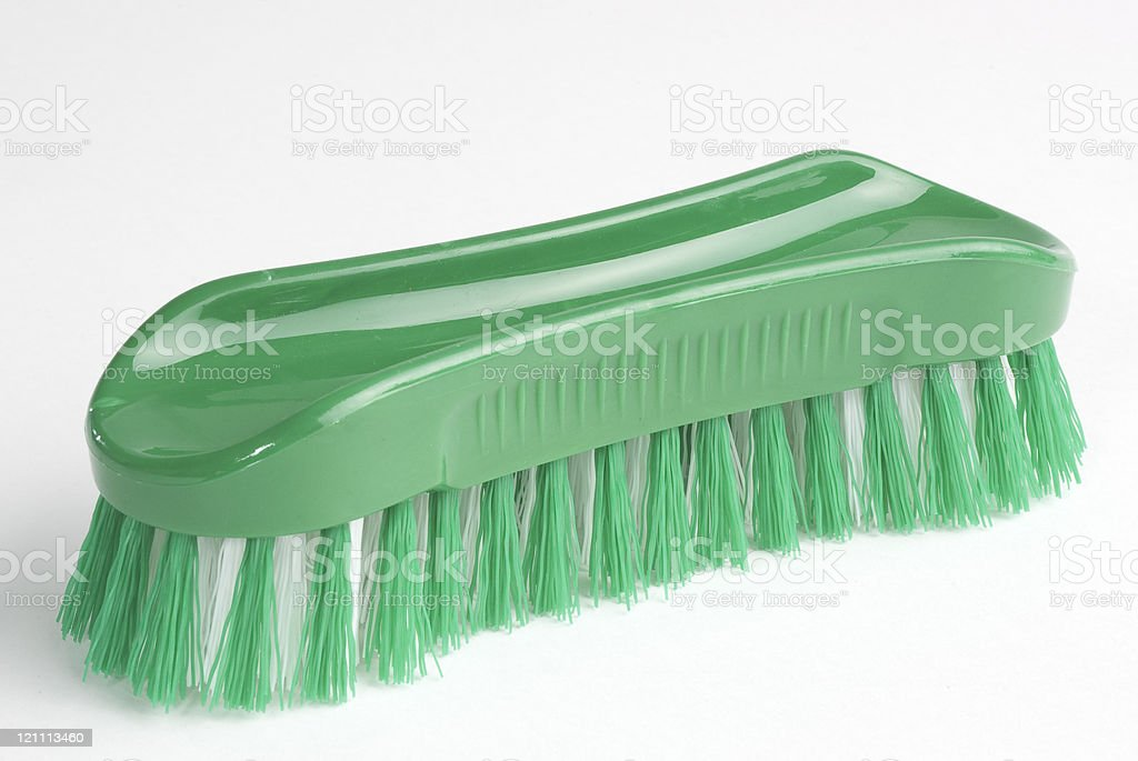 cleaning brush stock photo
