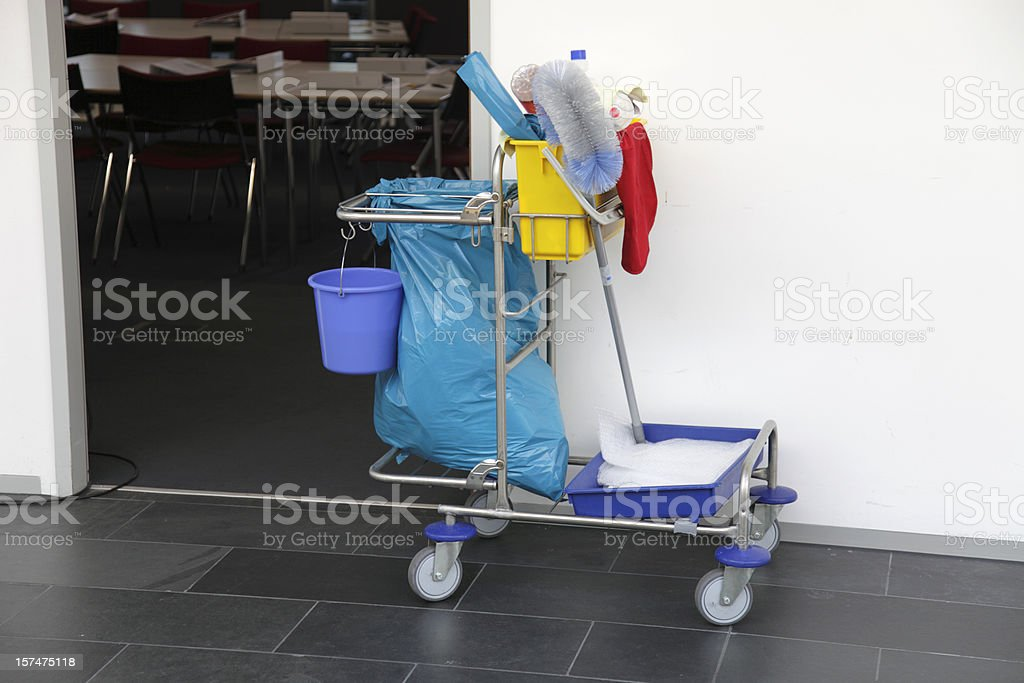 cleaning car royalty-free stock photo