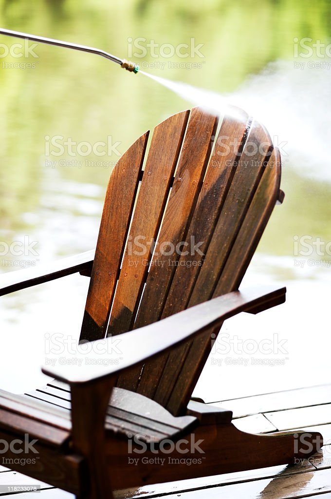 Cleaning Chair royalty-free stock photo