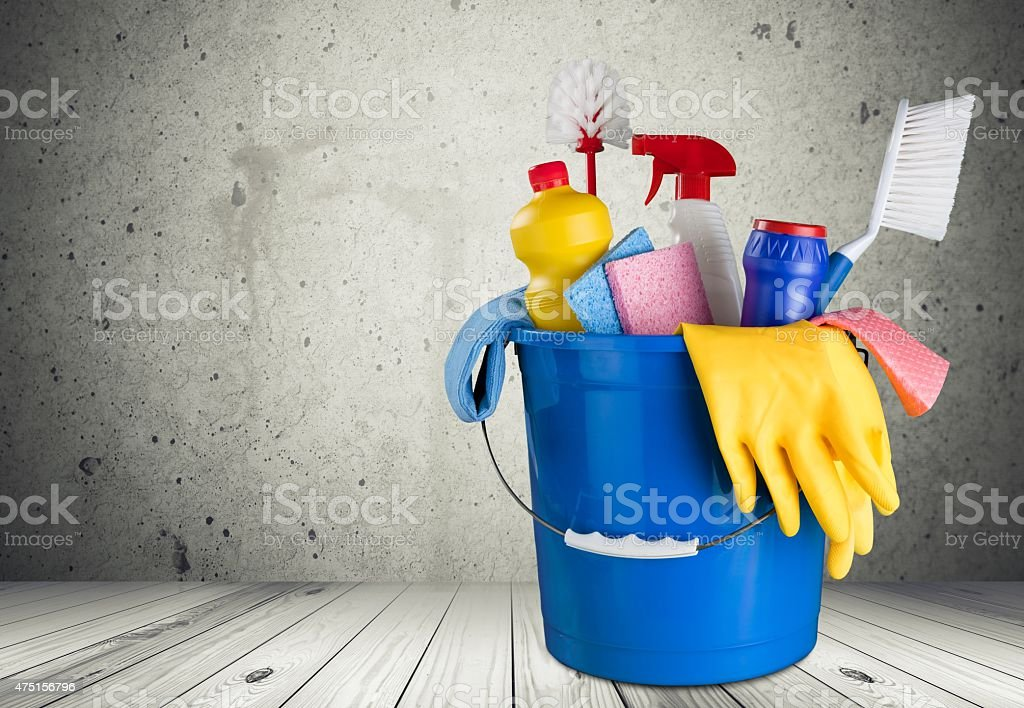 Cleaning, Cleaning Equipment, Bucket stock photo