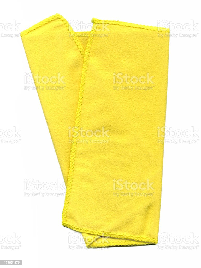 Cleaning cloth wiper hi-res royalty-free stock photo