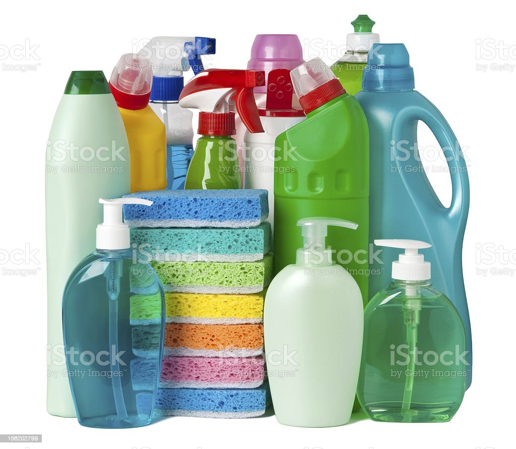 Cleaning equipment royalty-free stock photo