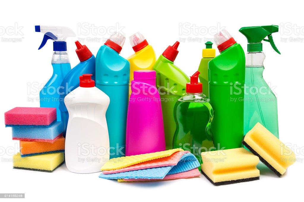 Cleaning equipment stock photo