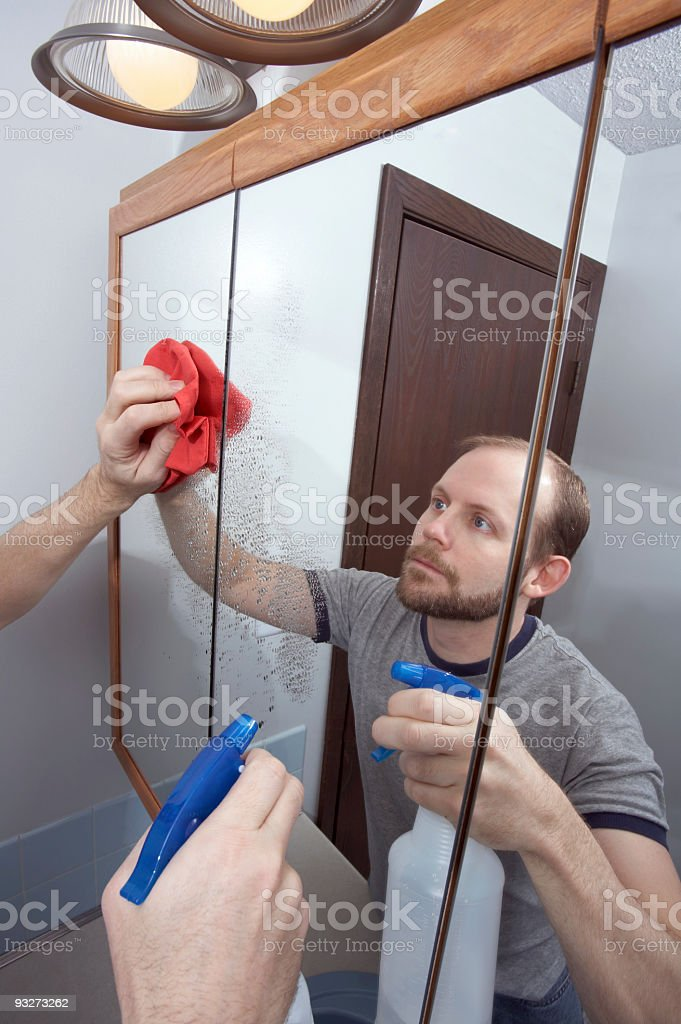 Cleaning House royalty-free stock photo