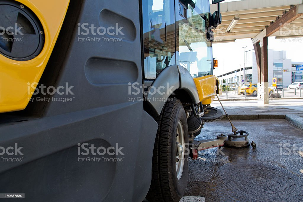 Cleaning machine royalty-free stock photo