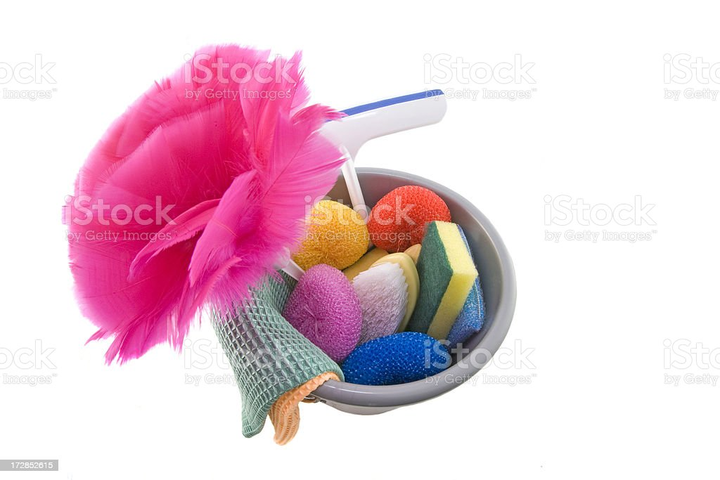 Cleaning Pail stock photo
