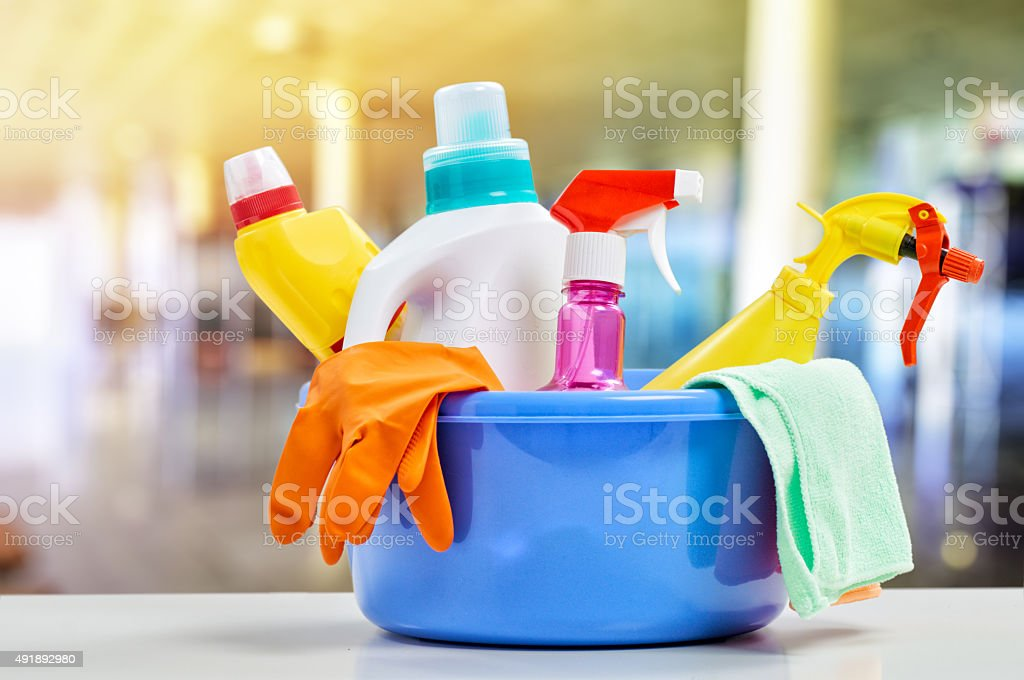 cleaning stock photo