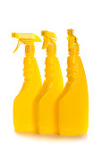 Cleaning product plastic containers