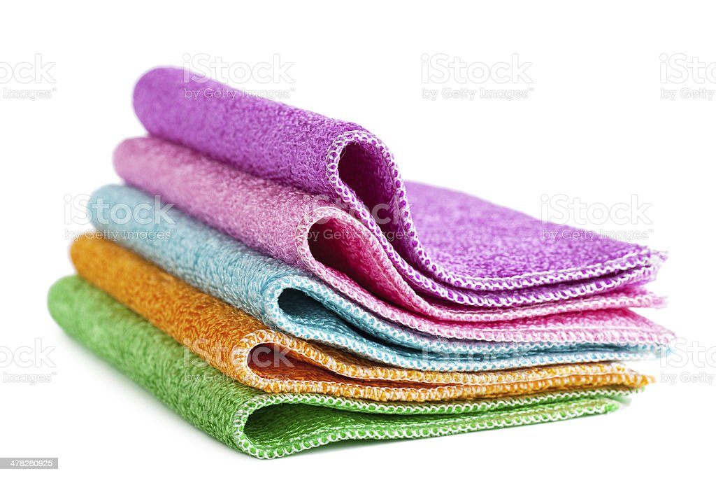 Cleaning rags royalty-free stock photo