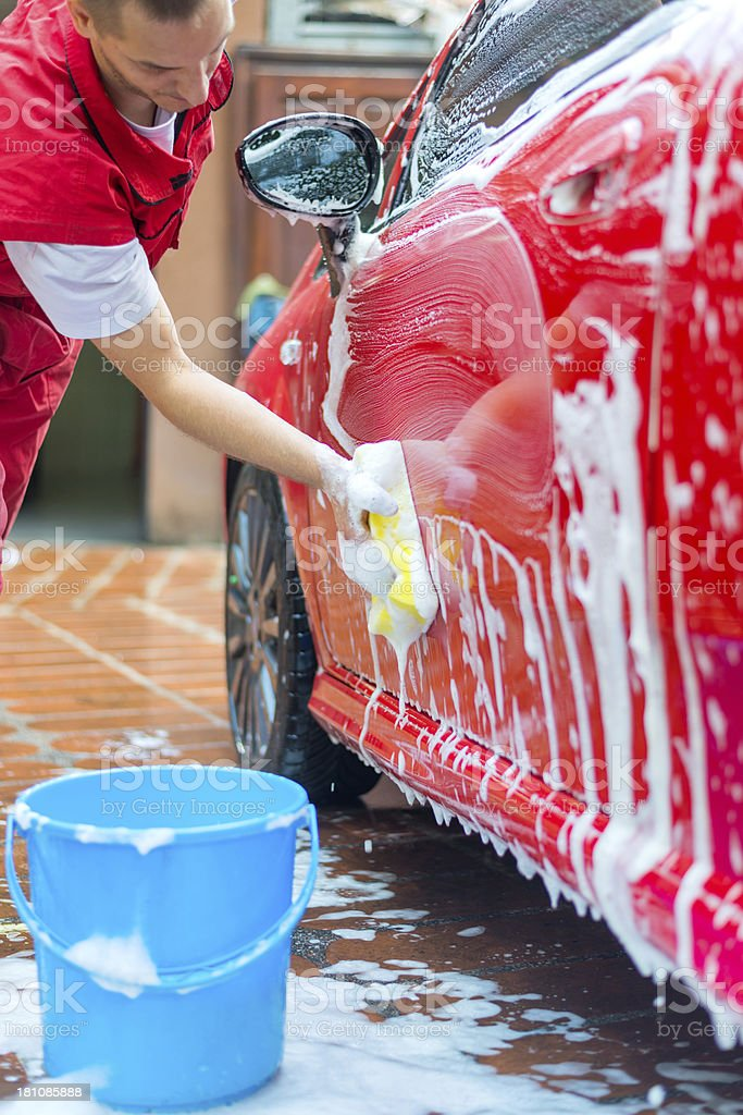 Cleaning service royalty-free stock photo