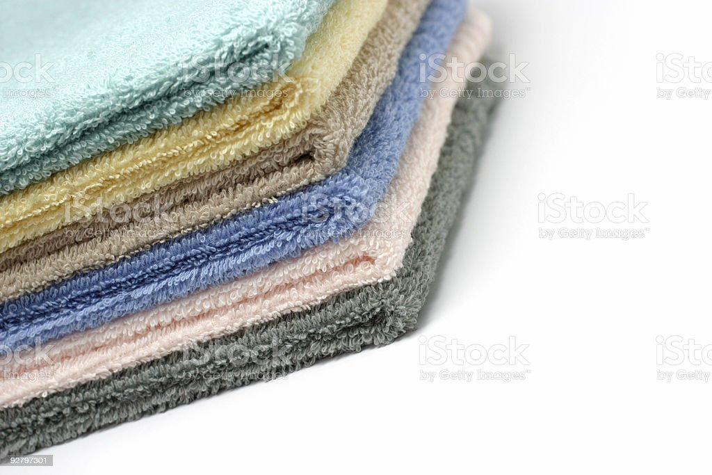 Cleaning Towels royalty-free stock photo