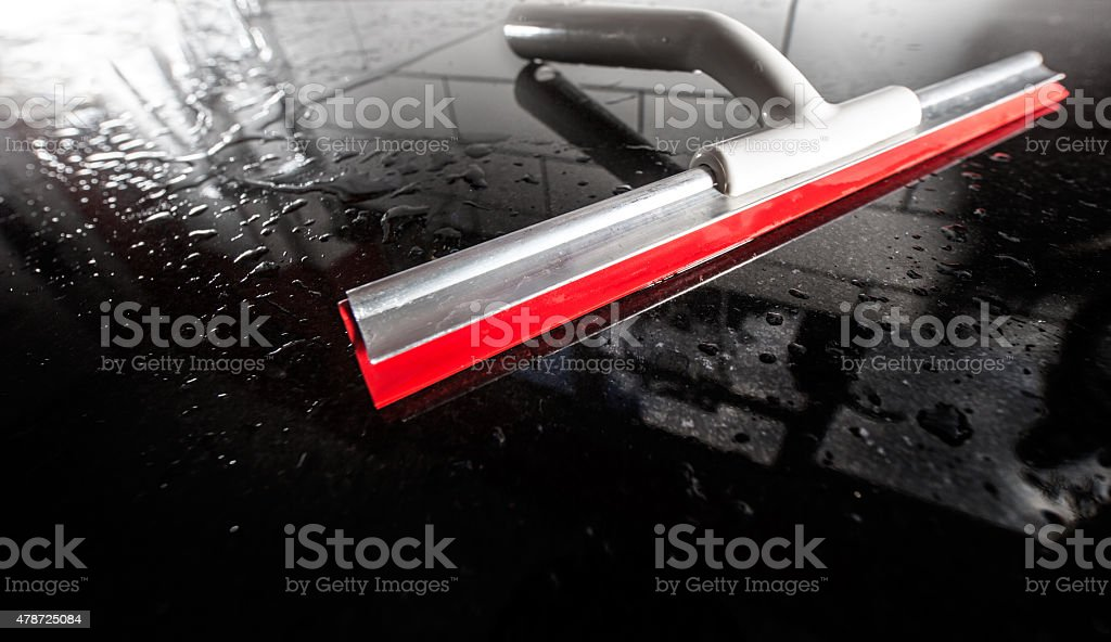 cleaning unpolished dirty surfaces stock photo