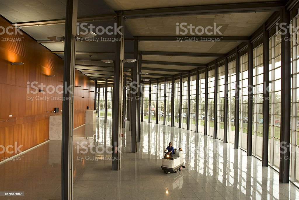 Cleaning veh?cle stock photo