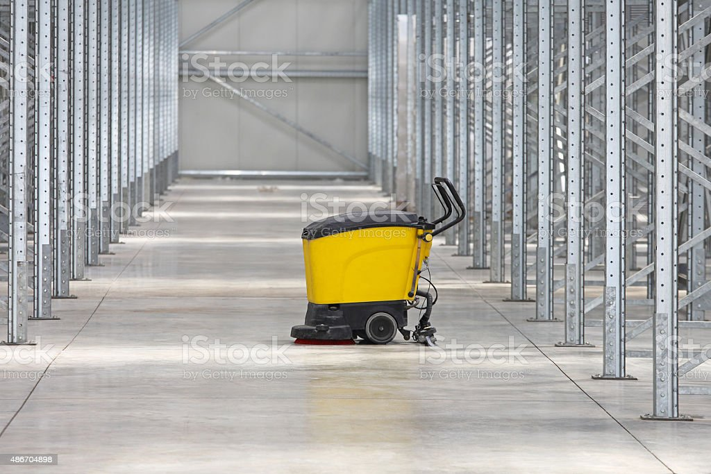 Cleaning Warehouse stock photo