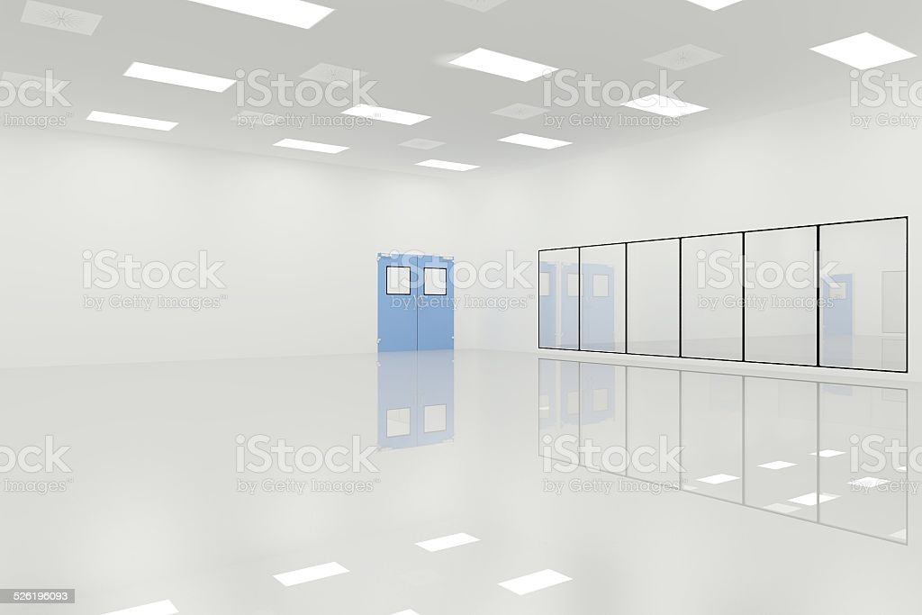 Cleanroom stock photo