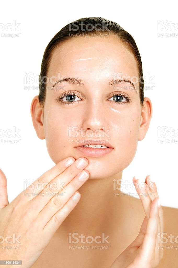 Cleansing royalty-free stock photo