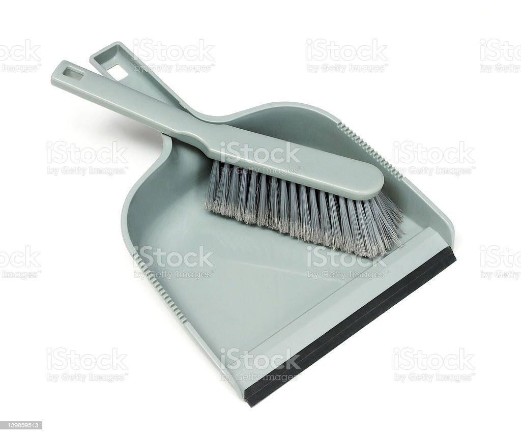 Cleanup royalty-free stock photo