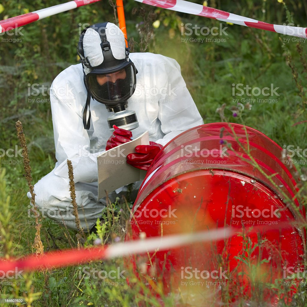 Cleanup, remediation stock photo