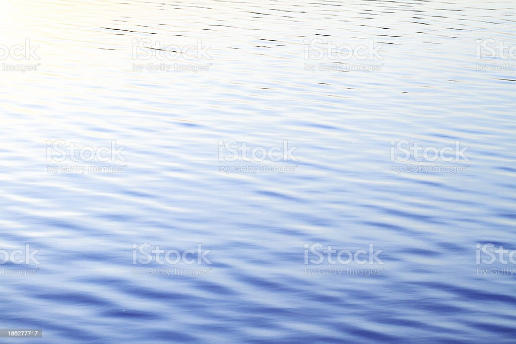 Clear blue sea royalty-free stock photo