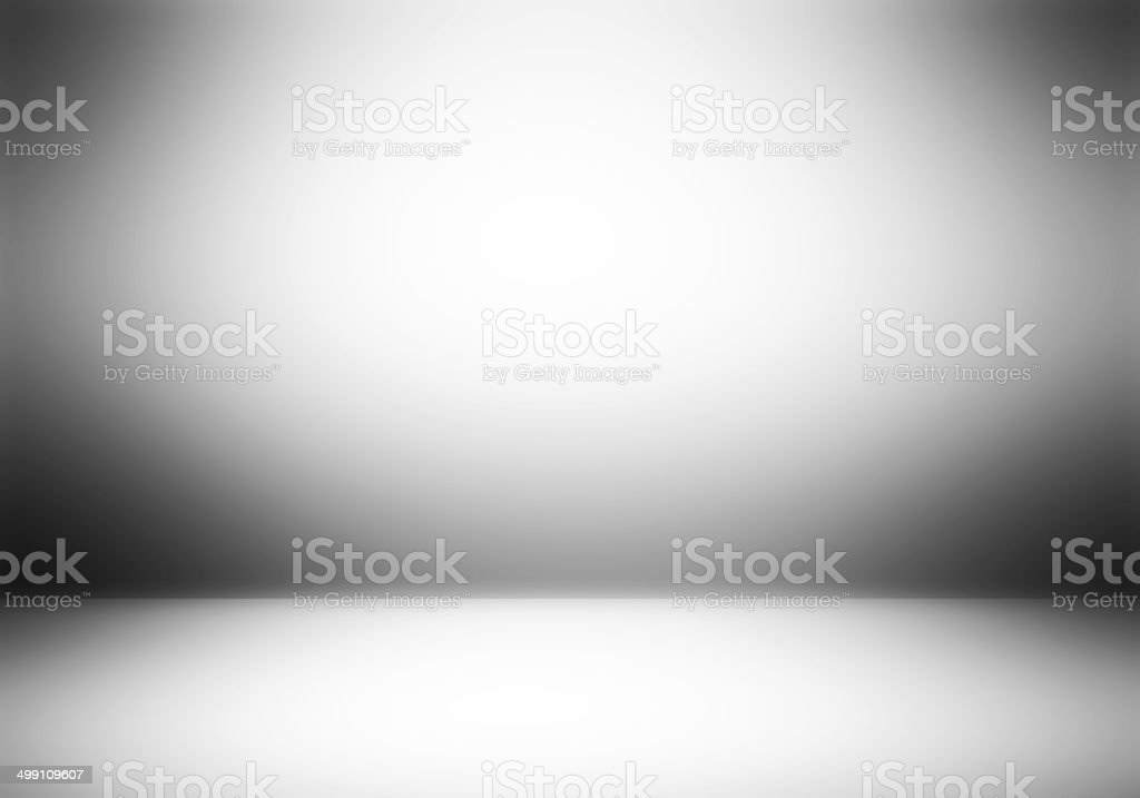 Clear empty photographer studio background. stock photo