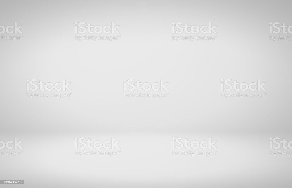 Clear empty photographer studio background stock photo