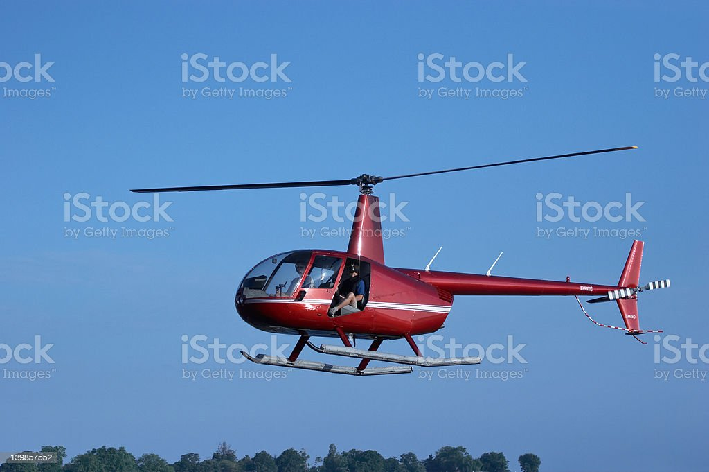 Clear Flying stock photo