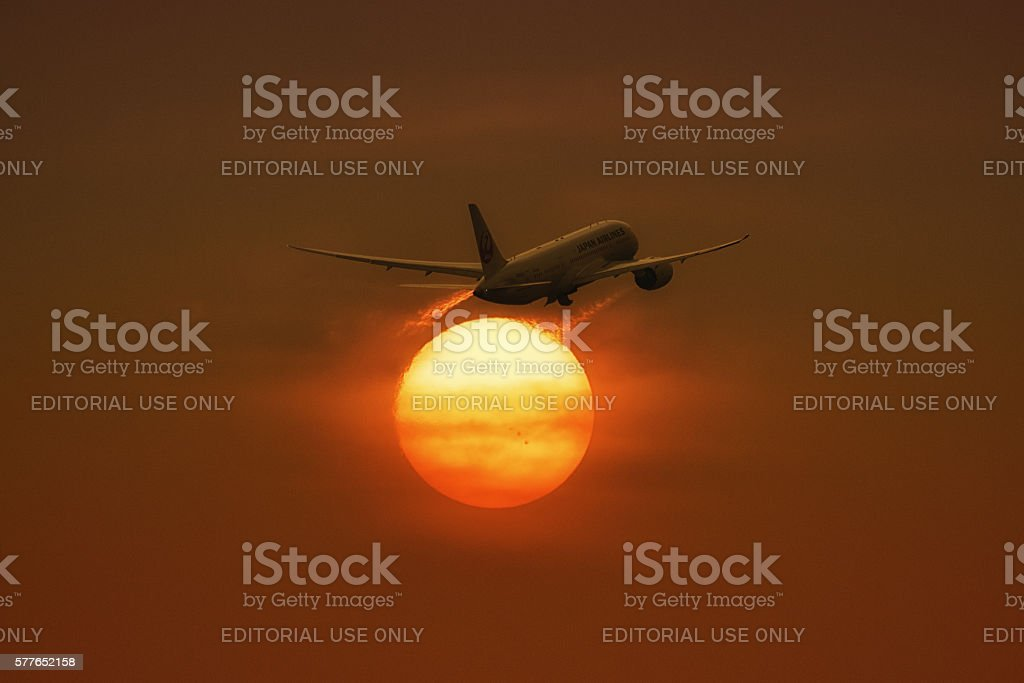 Clear for take off stock photo