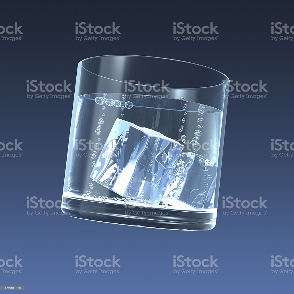clear glass stock photo