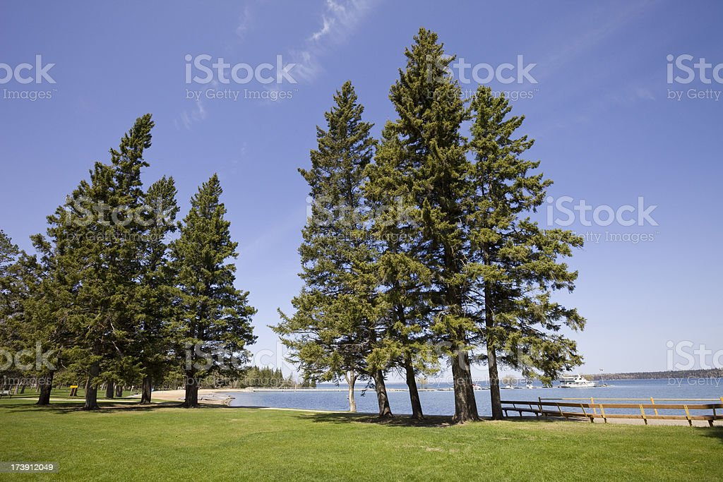 Clear Lake royalty-free stock photo