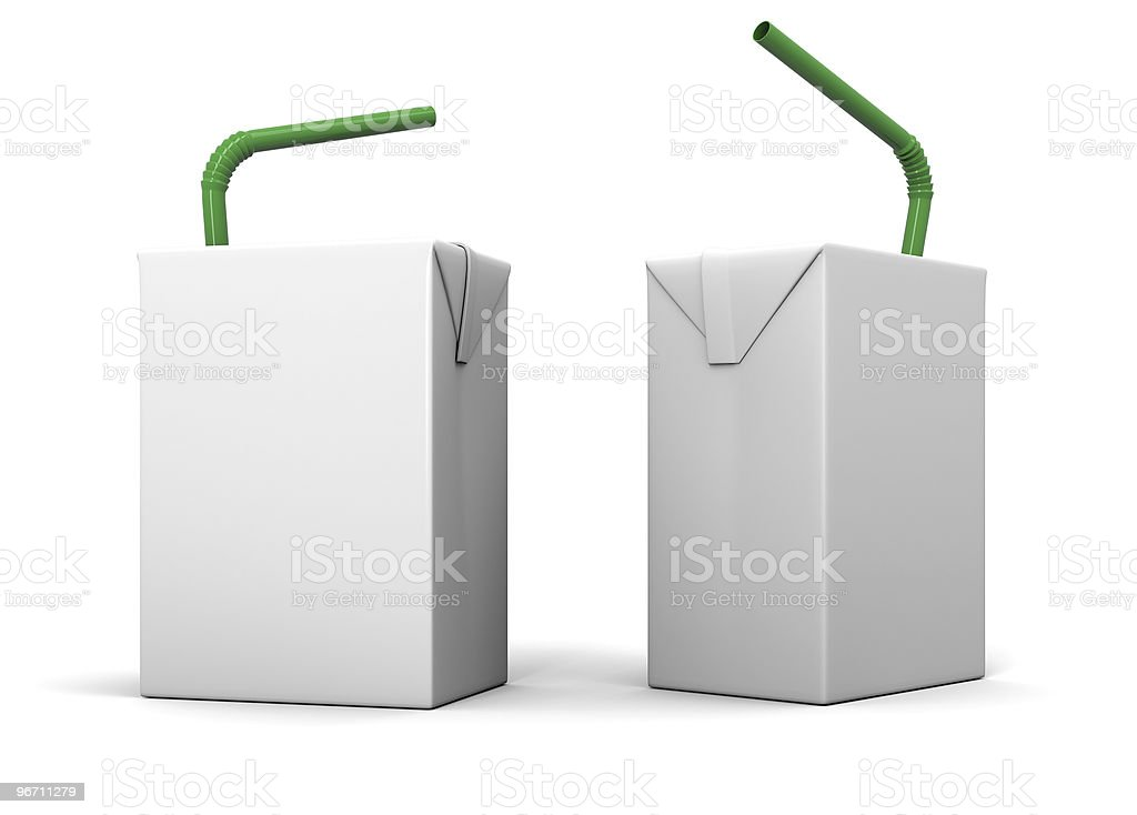 Clear package model royalty-free stock photo