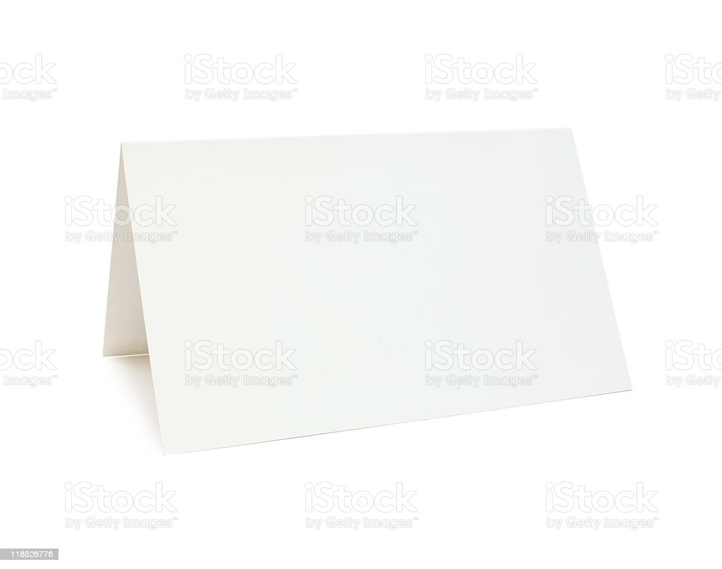 Clear paper stock photo